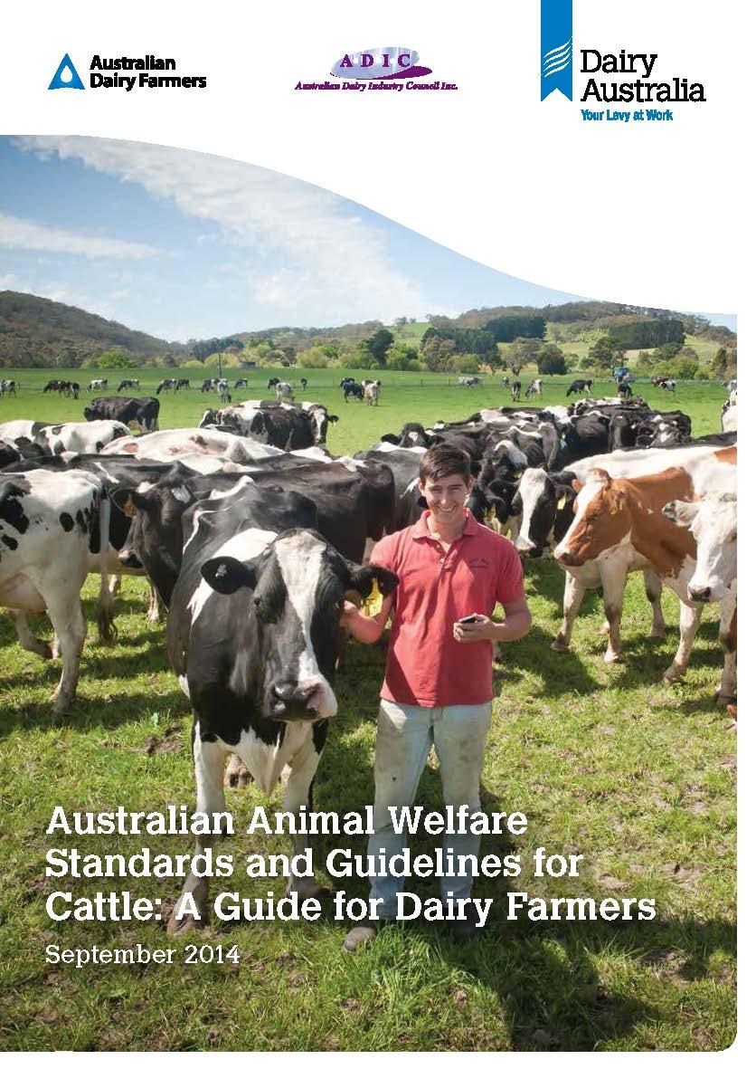 A Dairy Farm As A Technological System Teaching Practice: Welfare : Animal Health Australia