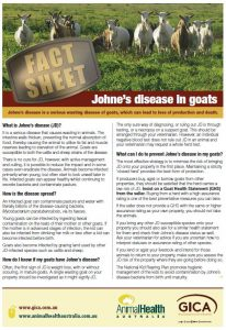 Goat Health – Animal Health Australia